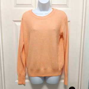 Forever 21 Orange Crew Neck Sweater